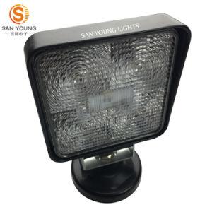 Square 15W à LED auto des feux de travail pour les camions de 4 pouces 12V 24V Véhicules