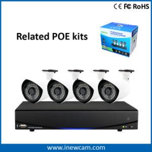 De Camera van de Kogel 1080P P2p IP van kabeltelevisie Onvif Poe IRL