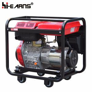 Tipo di blocco per grafici aperto raffreddato ad aria inizio diesel di ritrazione del generatore (DG6000)