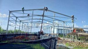 De pre Gebouwde Workshop van de Structuur van het Staal van het Project van de groot-Spanwijdte