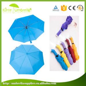 フラッシュライトが付いている最も安い広告の3つのフォールドLEDの傘