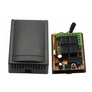 Cierre la compuerta de control remoto Kit Receptor transmisor