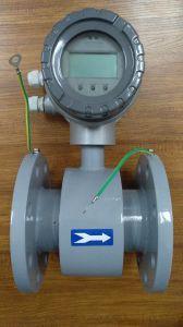 Kompaktes Wasser-elektromagnetischer Strömungsmesser Dn200, Zwischenlage PTFE