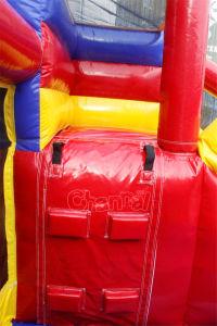 Gorila inflable Qb092-PVC combinado de la bola plástica