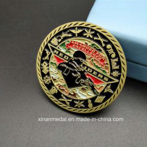 Duble味方されたエナメルの金の記念品の金属の硬貨