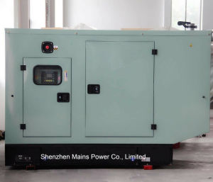 generatore di potere standby di valutazione del generatore diesel silenzioso di 44kVA Cummins