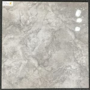Azulejo esmaltado 600X600m m nublado gris