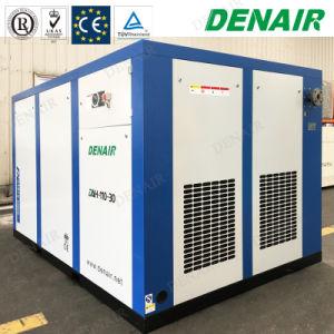 Wind, der stationären direkte Kupplung-verbundenen Hochdruckschrauben-Luftverdichter abkühlt