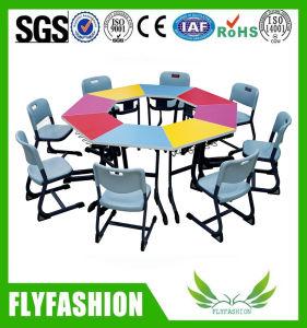 Infantário filhos crianças aluno móveis de madeira para a escola/sala de aula com marcação CE/RoHS