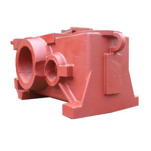 Fundición de hierro gris de la caja reductora de casting para Flander en Alemania