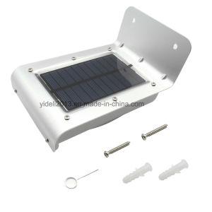 16のLEDの太陽エネルギーの動きセンサーの庭の機密保護ランプの屋外の防水ライト
