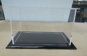 Personalizar a qualidade superior em acrílico transparente Mostrar Sapata dianteira da caixa de exibição
