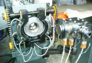 高速化学泡立つワイヤーケーブル押し出し外装機械
