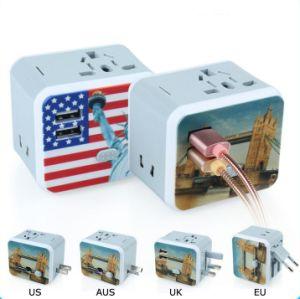 2017 Toma de alimentación adaptador Multi con cargador USB