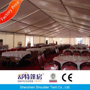 望楼の入口が付いている500 Seaterの結婚式のテント党テントのイベントのテント