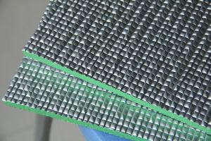 PE / XPE / IXPE короткого замыкания из пеноматериала с матовый алюминий сетка