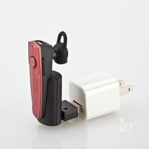Kit de coche USB cargador de coche con mini auricular Bluetooth