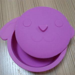 Фиолетовый цвет силикона контейнер для продуктов питания