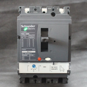Corta-circuito moldeado MCCB del caso de la alta calidad 100A 3p Nsx100n