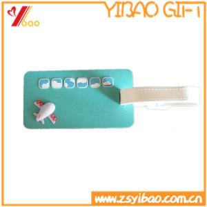주문 형식 3D 로고 수화물 꼬리표 (YB-HR-68)