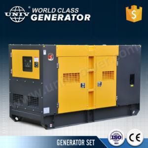 generatore diesel silenzioso di disegno di Denyo del motore di 480kw/600kVA Perkins