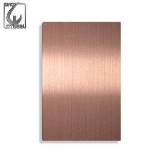 Cr che laminato a freddo lo strato dell'acciaio inossidabile dell'oro 304 del caffè di no. 4