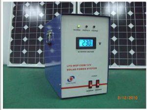 家の太陽エネルギーシステム(150Wによっては太陽エネルギーシステムが家へ帰る)