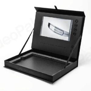 4.3inch LCD Doos van de Gift van het Scherm de Video voor juwelen /Watch/Ring