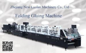 Pliegue Gluer utiliza pegamento frío de la máquina para el cuadro de la Junta de cartón (GK-1100GS)