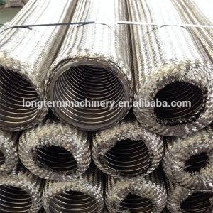 304 ha intrecciato il tubo flessibile metallico flessibile ondulato dell'acciaio inossidabile