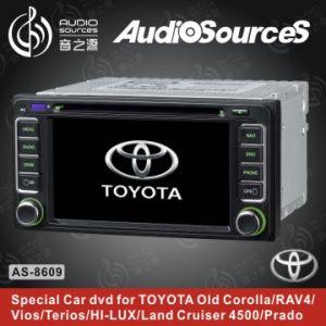 RDS, Tmc, Bt (AS-8609)를 가진 Toyota에서 LCD 차 GPS DVD 플레이어