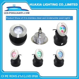 AC12V warm Wit/de White/RGB In een nis gezette Lichten van de LEIDENE IP68 LEIDENE OnderwaterPool