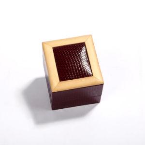 Cuero de PU de alta calidad joyas Pulsera Collar Anillo Expositor