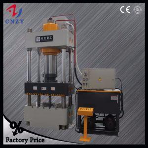 Tre macchina della pressa idraulica della colonna del fascio quattro