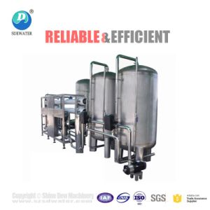 Una mejor máquina de tratamiento de agua eficiente