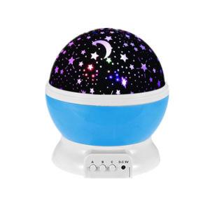 Mininachtlicht-Stern-Projektor kinder USB-LED für Haus-Raum