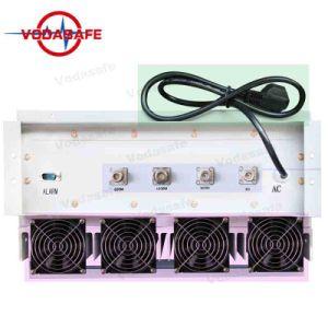 Sistema de Bloqueio da prisão de alta potência Outputpower total 180W Raio de Cobertura 50-100m, congestionamentos para 2/3/4G Cellphone/WI2.4G/Bluetooth/Gpsl1