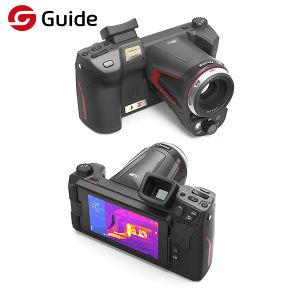 WiFiのリモート・コントロール高リゾリューションの赤外線熱探知カメラThermographic IRのカメラの電気点検のための熱画像のカメラガイドCシリーズ