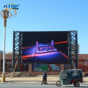 Montée de la publicité de plein air afficheurs à LED RVB