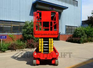 10meters de gemotoriseerde Lift Platfo van het Werk van de Lift van de Schaar Lucht