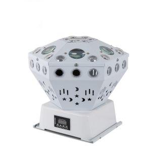 RGB LED decoración bola de cristal mágica luz de la etapa de fiesta