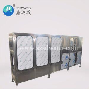 Macchina di coperchiamento di riempimento di lavaggio della bottiglia di acqua automatica piena