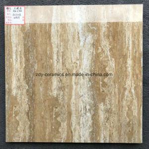 木デザイン建築材料完全なボディ自然な石造りの陶磁器の大理石の磁器の床タイル