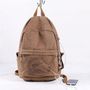 Sac à dos de l'école antivol Sac avec la charge USB