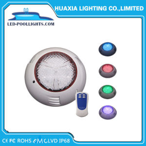 24W 12V IP68 RGBカラーLEDプールの水中ライト