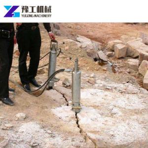 Macchina di scissione di pietra concreta della roccia della cava idraulica del divisore