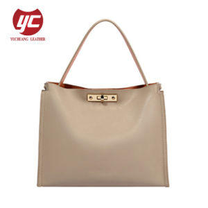 2019 Sommer-einfache Art-Form PU Dame Handbag 2 in 1 Handtaschen-Großverkauf