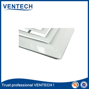 Diffusore dell'aria di modo del soffitto 4 di controllo di temperatura che timbra il diffusore dell'aria