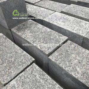 G684黒い玄武岩の花こう岩の玉石のSettsの敷石