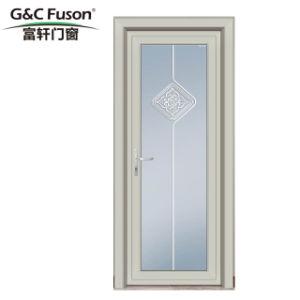 Portello di alluminio della stoffa per tendine di colore di apertura esterna termica bianca della rottura